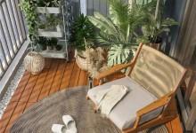 诗尼曼新品首发,休闲花园主题阳台系列,走进家中的秘密花园!
