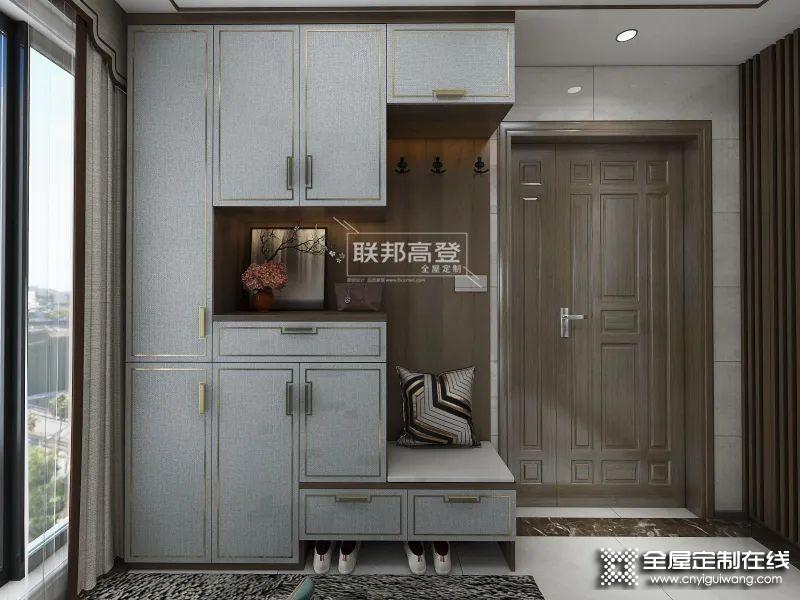 玄关太窄如何设计鞋柜,入门无玄关鞋柜怎么设计_1