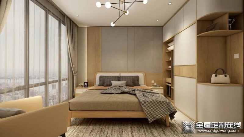 卡诺亚定制家居:小卧室照样可以定制衣帽间!_2