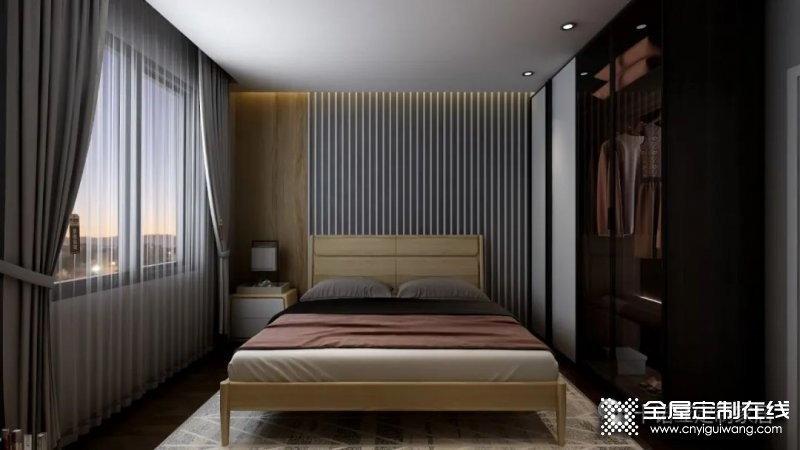 卡诺亚定制家居:小卧室照样可以定制衣帽间!_1
