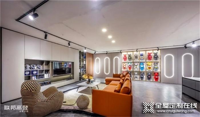 联邦高登高端全屋定制,多元化客厅设计尽显独特品味