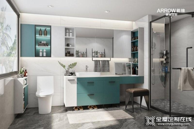 卫生间浴室柜怎么选?箭牌家居定制有妙招!_3