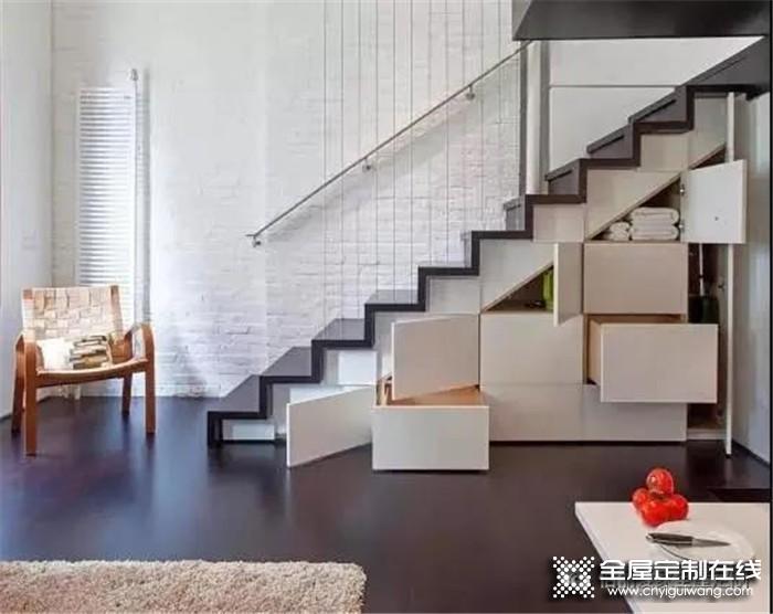 一梯多用,佰丽爱教您:复式楼梯不再闲置!