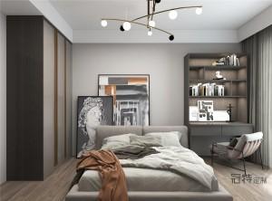 冠特定制家具效果图,轻奢风格全屋定制装修图