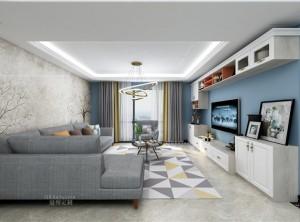 冠特定制卧室装修图,北欧风格全屋效果图