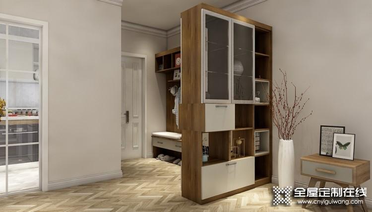 伊百丽全屋定制北欧风格装修效果图,三室两厅