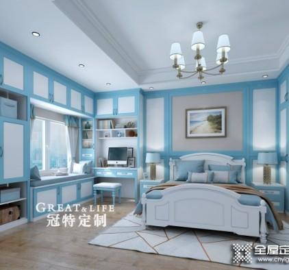 冠特定制萊茵藍系列效(xiao)果(guo)圖(tu)小心听,地中海風格(ge)裝修圖(tu)