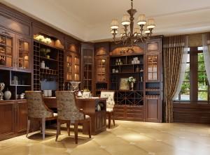 美式四室两厅装修效果图,伊百丽温莎公爵系列产品