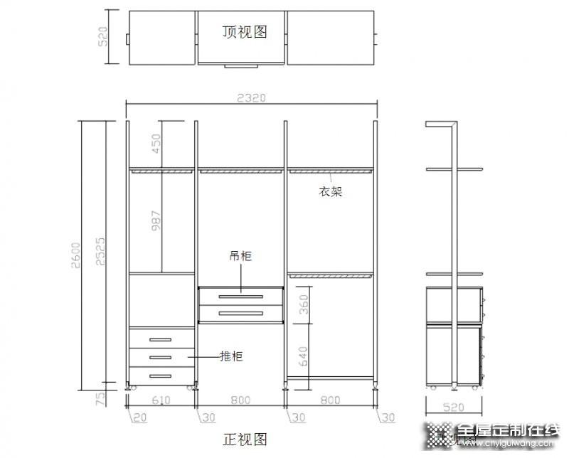直型柜、顶柜、转角柜——衣柜产品结构知识分享_6