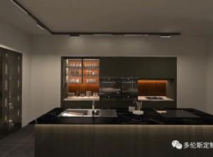 多伦斯定制家居森蒂斯系列产品极简轻奢风效果图