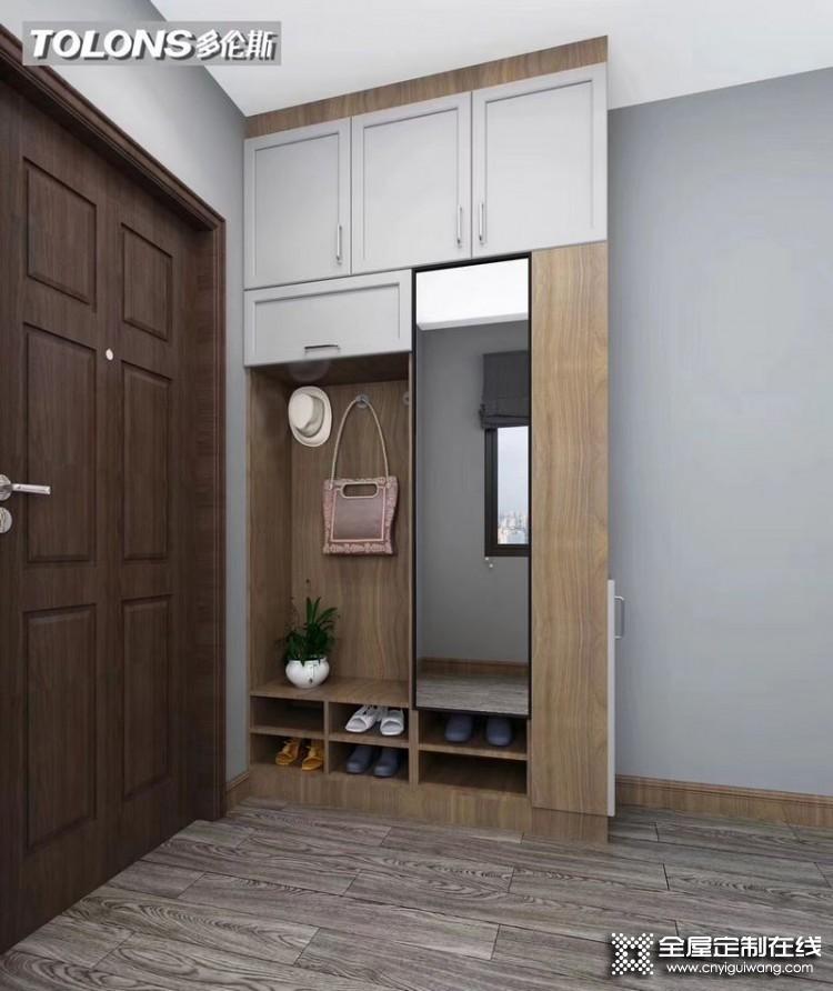 多伦斯衣柜意式系列产品效果图
