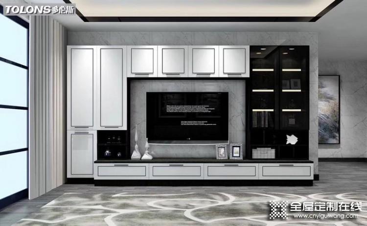 多伦斯衣柜新中式系列产品效果图
