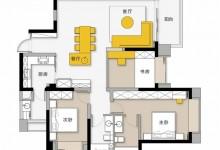 佰爱丽|140㎡现代风3居室,集办公、休息于一体的设计,交流无障碍!