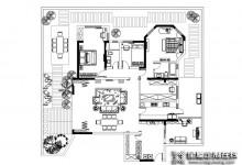 佰丽爱|190㎡美式新古典风格3居室,给人极致优雅唯美的视觉享受!