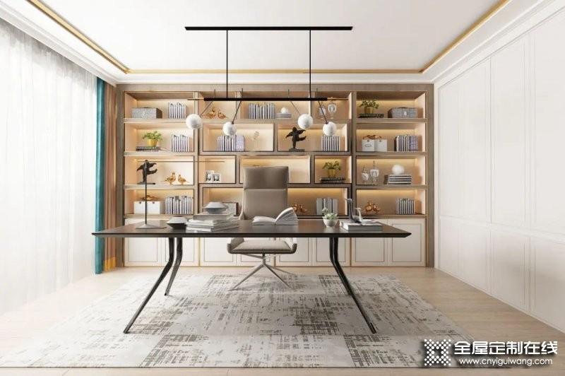 书房就该这么设计!客来福全屋定制案例大分享!_3