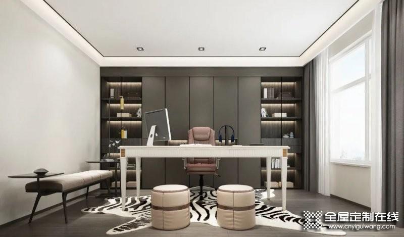 书房就该这么设计!客来福全屋定制案例大分享!_4