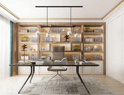 书房就该这么设计!客来福全屋定制案例大分享