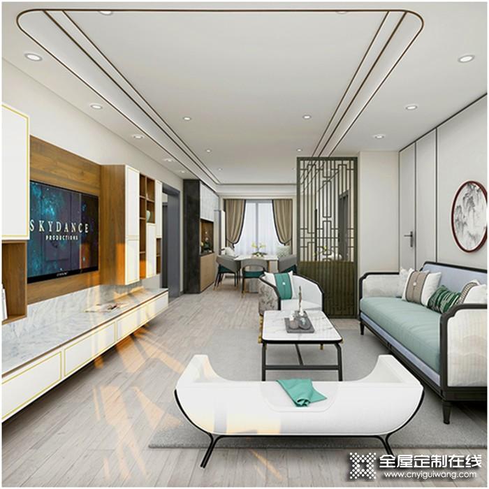欣邦有约   左尚明舍全屋定制:用优质材料为客户定制一个专属的家!