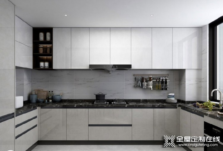 SAKURA樱花整体厨房·衣柜轻奢系列日出印象产品图