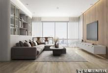 索菲亚全屋家居定制:谁说沙发非要靠墙,这样做照样美上天!